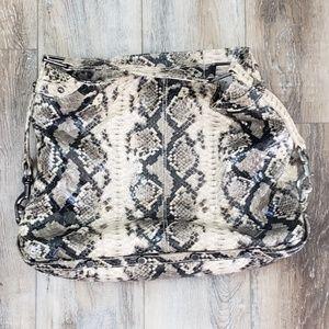 Handbags - *Rebecca Minkoff Snake Skin Satchel Bag